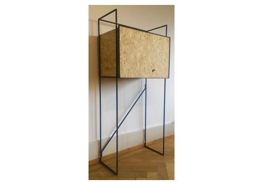 b form highboard osb. Black Bedroom Furniture Sets. Home Design Ideas